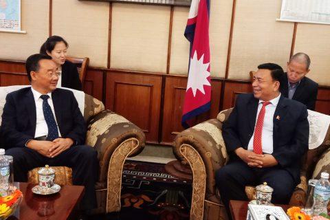नेपाल प्रगतिको दिशामा अघि बढेको  छ : उपराष्ट्रपति