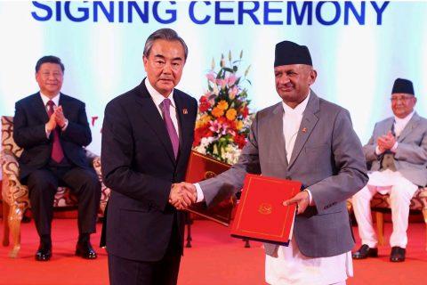 चिनियाँ राष्ट्रपतिको नेपाल भ्रमणका क्रममा २० बुँदे सहमति