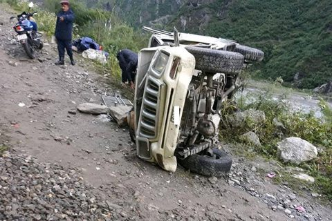 मकवानपुर दुर्घटना : मृतकको संख्या ३ पुग्यो