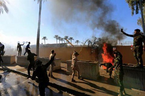 इराकस्थित अमेरिकी दुतावासमा भएको आक्रमणको राष्ट्रपति ट्रम्पद्वारा दुःख व्यक्त