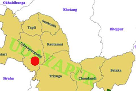 भारतीय नम्बर प्लेटको जीप दुर्घटना हुँदा उदयपुरमा ३ को मृत्यु, ५ घाइते