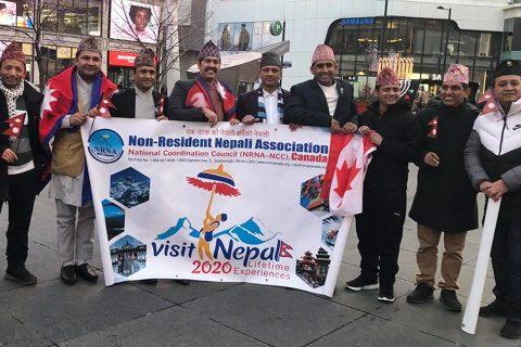 क्यानडामा नेपाली टोपी दिवस र भ्रमण वर्ष २०२०