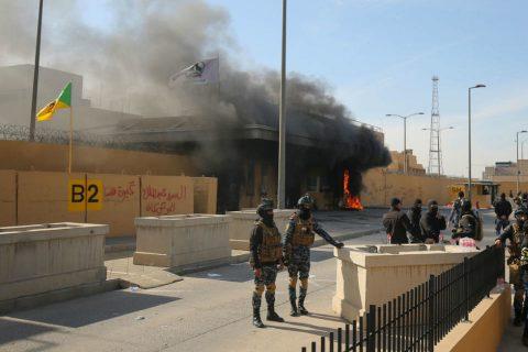 आफ्ना नागरिकलाई  तत्काल इराक छाड्न अमेरिकाको निर्देशन
