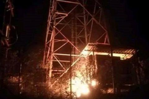 कसले जलायो चितवनमा एनसेलको टावर ?