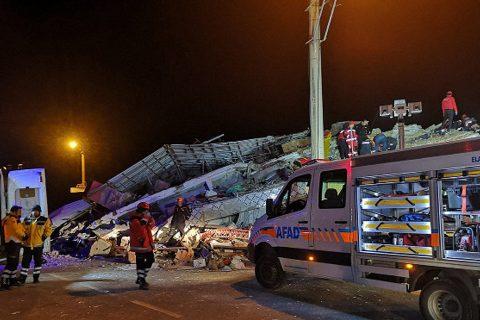भूकम्पमा परी टर्कीमा १८ को मृत्यु, सयौं घाइते