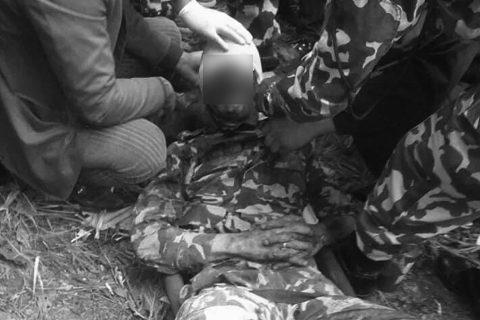 सेनाको गाडी सडकबाट छाँगामा खस्यो, १ को मृत्यु, ६ घाइते