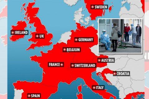 कोरोनाको संक्रमणबाट फ्रान्समा थप एक जनाको मृत्यु, युरोपमा फैलँदै कोरोना