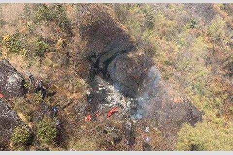 प्रतिवेदन भन्छ : तत्कालीन पर्यटनमन्त्री चढेको हेलिकोप्टर दुर्घटनाको कारण पाइलट