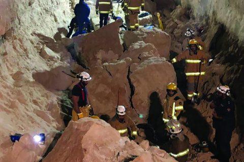 कुबेतमा जमिन भत्किँदा ४ नेपालीको मृत्यु, ३ घाइते (घटनास्थलको भिडियोसहित)