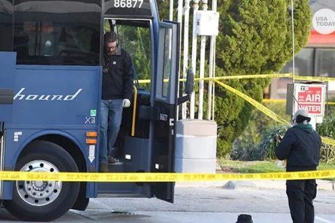 अमेरिकामा यात्रुबाहक बसभित्रै गोली प्रहार, १ को मृत्यु ५ घाइते
