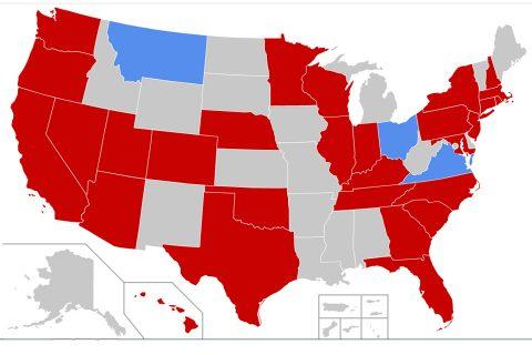 कोरोनाबाट आक्रान्त बन्दै अमेरिका, संक्रमितको संख्या ३७७ पुग्यो, न्यूर्योकमा आपतकालको घोषणा