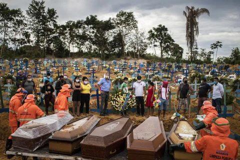 ब्राजिल बन्यो कोरोनाको पछिल्लो इपिसेन्टर : विश्वकै तेश्रो बढी संक्रमित ब्राजिलमा २० हजार बढीको मृत्यु
