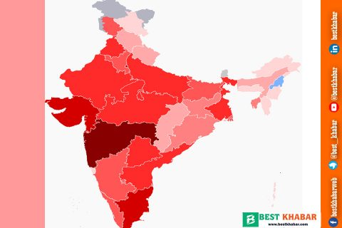 भारतमा कोरोना : एकैदिन १२१ को मृत्यु, ३४७५ नयाँ विरामी थपिए, संक्रमितको संख्या ७४ हजार नाघ्यो