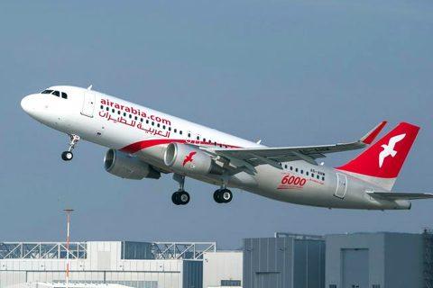 १५७ नेपाली बोकेर दुबईबाट उड्यो एयर अरेवियाको विमान