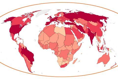 विश्वमा कोरोना : मृतकको संख्या साढे ४ लाख नाघ्यो, अमेरिकामा मात्रै झण्डै १ लाख २० हजारको मृत्यु
