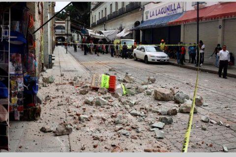 मेक्सिकोमा ७ दशमलव ४ रेक्टरको भूकम्प, सुनामीको चेतावनी