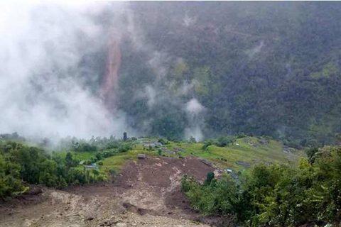 कास्की, म्याग्दी र जाजरकोटका विभिन्न स्थानमा पहिरो, ७ को मृत्यु, ३९ जना वेपत्ता