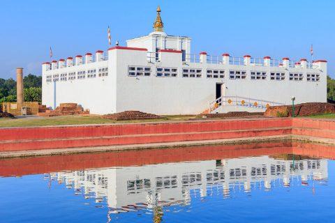 लुम्बिनीको मायादेवी मन्दिर ८ महिनापछि सबैका लागि खुल्ला गरियो